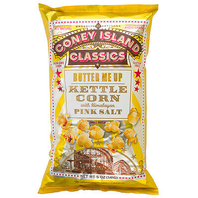 NEW Coney Island Classics Butter Me Up Kettle Corn 141g