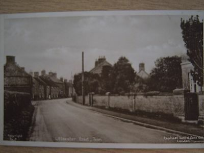 Tean  - Uttoxeter Road Staffordshire - Tuck Postcard