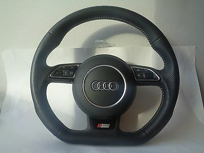 Audi S Line A3 S3 8V RS Q3 A1 steering wheel Flat Bottom Multifunction 2016