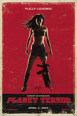 Grindhouse - Planet Terror Poster A - Robert Rodriguez