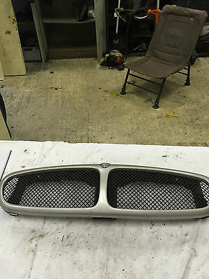 Jaguar X Type Front Grill With Mesh