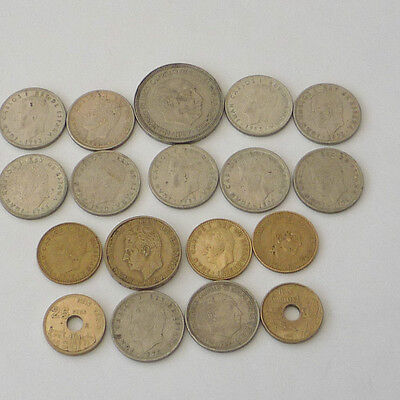 Spain Mixed collection of old coins   Ref FBC411