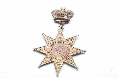 Rare Victoria Jubilee Empress of India 1877 Medal