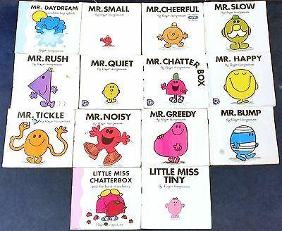 Mr Men and Little Miss Books - 14 in total