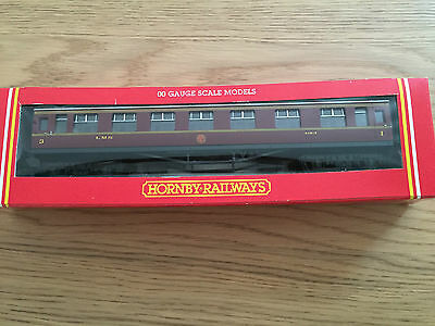 Hornby R4061 LMS Composite Coach Maroon 4183