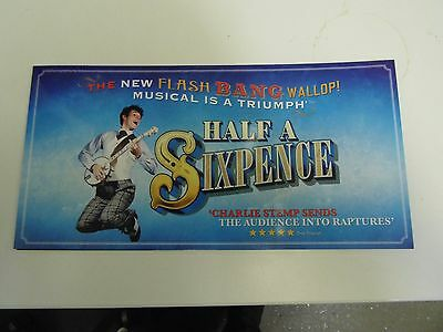 Half A Sixpence Flyer - Trifold
