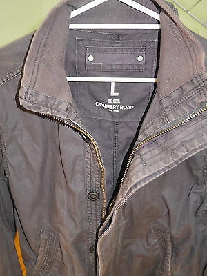 COUNTRY ROAD men's jacket - size L