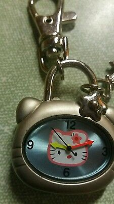 hello kitty watch key ring working