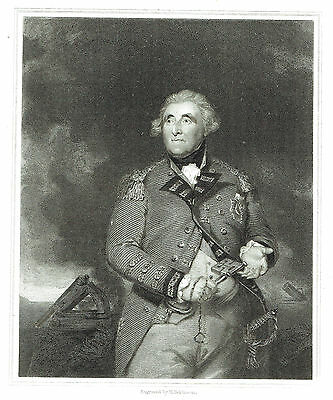 George Augustus Eliott, Lord Heathfield - Military Commander - After J. Reynolds