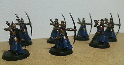 Warhammer lotr high elves last alliance fellowship painted