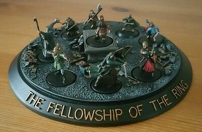 Lotr  warhammer fellowship of the ring mines of mora based well painted