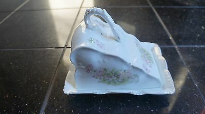 Vintage Antique Large Cheese Dish