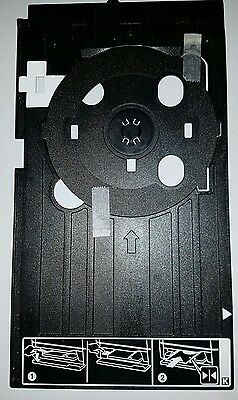 Genuine Epson PX650 CD/DVD Printing Tray AND adapter ring. EXCELLENT CONDITION.
