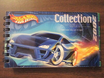 2002 Hot Wheels Limited Edition Collectors Book 2002 Catalog Of Cars