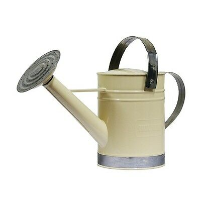 Holman WATERING CAN Two Handles, Galvanised Metal, BEIGE *Aust Brand- 1.8L Or 9L