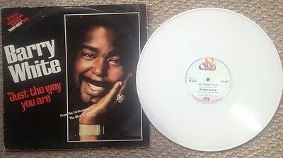"""Barry White Just The Way You Are 12"""" Limited Edition White Vinyl 1978"""