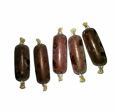 20 x 30 gram Packs of Stendker Sausages (Special Discus Food) - Frozen Fish Food