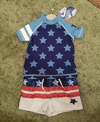 NEXT Baby Boy Swimsuit 3-6m *NEW* RRP £14