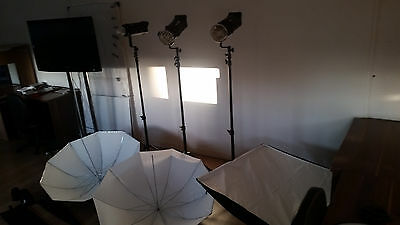 Bowens Gemini GR 500 R THREE HEAD Studio Lighting Kit