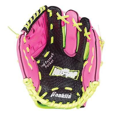 Franklin Sports 22852 9 in. Neo-Grip Teeball Gloves Pink Right Handed