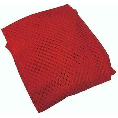 Olympia Sports BC014P 24 in. x 36 in. Mesh Bag Red