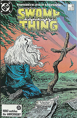 The Saga of Swamp Thing #55 - December 1986