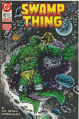 Swamp Thing #62 - July 1987