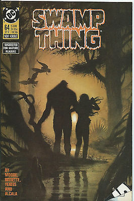 Swamp Thing #64 - September 1987