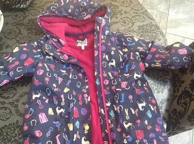 girls Joules coat age 4 yrs