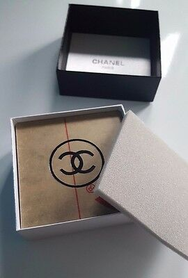 Chanel  VIP Gift  Black Acrylic  Coaster Set of 4 Gift Boxed