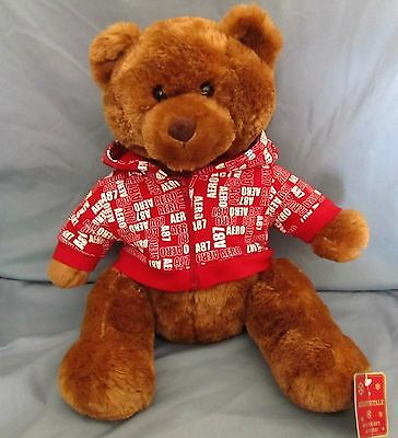 Aeropostale Collector Teddy Bear Plush With Hoodie