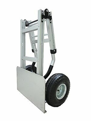 Aluminum Folding Hand Truck Large Nose Plate 500 lb - Same day Ship (HS-36)