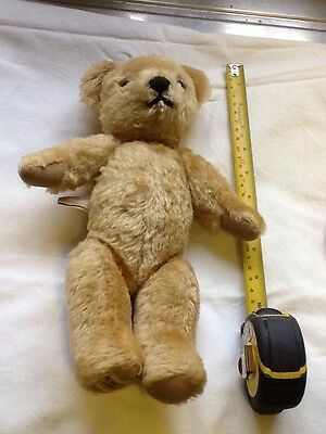 vintage 1970s merrythought teddy bear