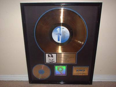 "Red Hot Chili Peppers Rhcp Riaa Gold Record Award ""mothers Milk"""