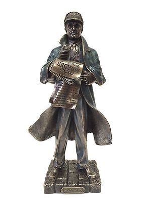 SHERLOCK HOLMES FICTIONAL DETECTIVE Statue Sculpture Figure - SHIPS IMMEDIATELY!