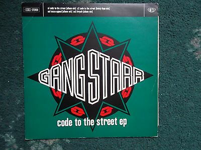 Gangstarr Code Of The Streets Ep