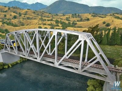 4521 Walthers Arched Pratt Truss Railroad Bridge HO Scale Kit
