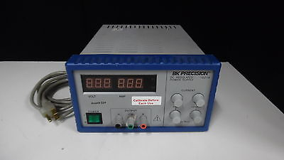 Bk Precision Dc Regulated Power Supply 1621A