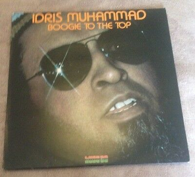 Lp  Idris Muhammad  Boogie To The Top 1978.