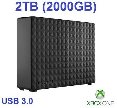 External Hard Drive for Xbox One - 2000GB / 2TB - Xbox One Extra Memory/Storage
