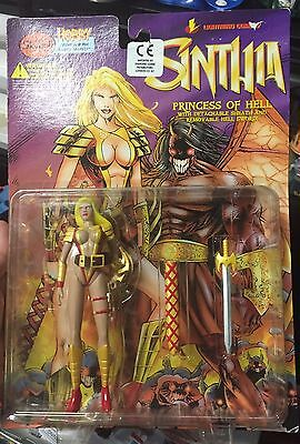Skybolt Toys Sinthia Princess Of Hell gold Edition figure