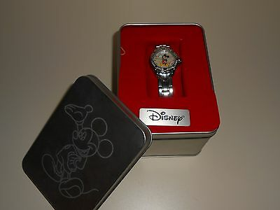 Women's Watch-DISNEY-Affinity Diamonds--MICKEY MOUSE-Mother of Pearl Face-LOOK!
