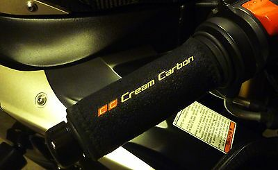 Cream Carbon Rechargeable Heated Over Grips - Benelli Leoncino