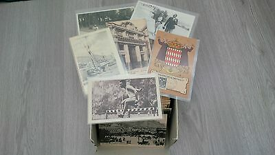 collection environ 600 cartes postales anciennes monaco