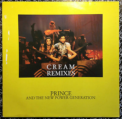 Prince • CREAM REMIXES plays at 33 and a third