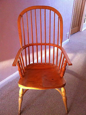 Traditional Craftsman Made Windsor Chair -