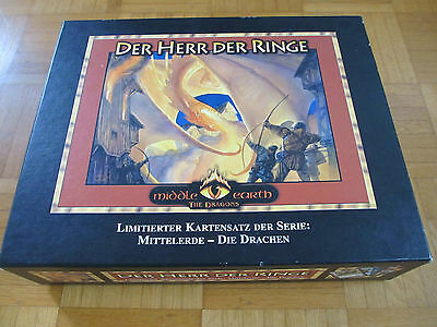 The Dragons - Limitierte Sammelbox (160 of 280) - All 180 Cards - lotr Herr Ring