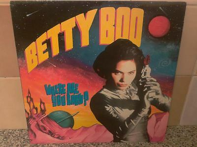 Betty Boo – Where Are You Baby? Rhythm King Records – LEFT 43T NEAR MINT