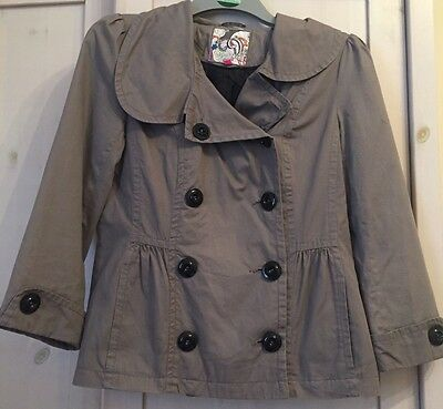 Girls Women's Coat Grey age 14-15 Uk6