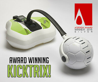 KickTrix™ Football Training Tool & App sports equipment soccer practice trainer